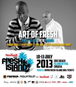 Art of Fresh Fresh Island Festival